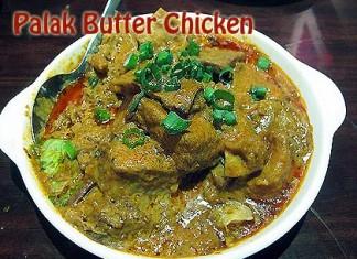 Palak Butter Chicken