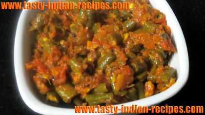 french beans ki sabji