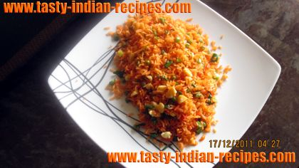 schezwan fried rice are ready to serve