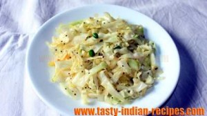 Indian Cabbage Salad Recipe-step1