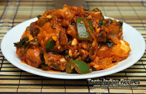 How to make paneer manchurian paneer manchurian recipe paneer manchurian forumfinder Image collections