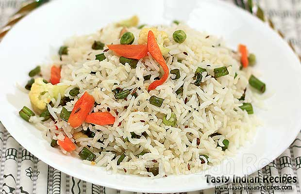 How to make Vegetable Rice - Vegetable Rice Recipe