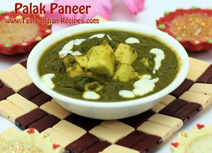 Palak paneer recipe how to make palak paneer palak paneer recipe forumfinder Gallery