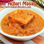 Paneer Achari Masala Recipe
