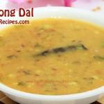 Yellow Moong Dal Recipe