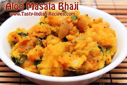 Aloo-Masala-Bhaji