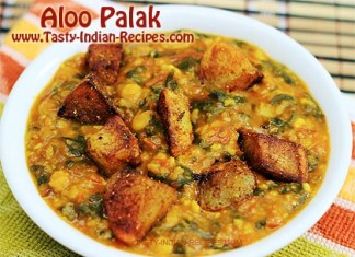 Aloo-Palak