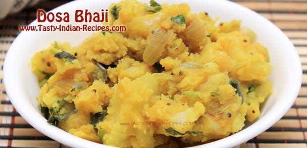 Dosa Bhaji (Filling)---Featured