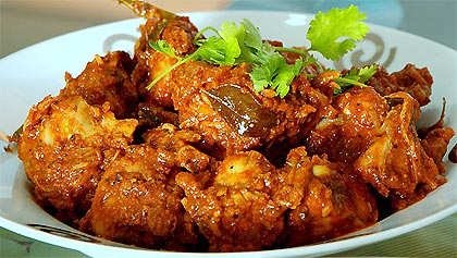 How To Make Dry Chicken Curry
