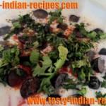 Kale Angoor (Black Grapes) Ka Raita Recipe