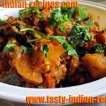 Microwave Aloo Bhindi Masala Recipe
