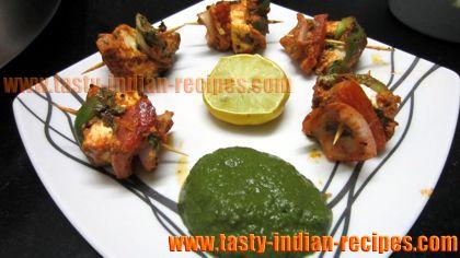 ... make Tandoori Paneer Tikka Kebab - Tandoori Paneer Tikka Kebab Recipe