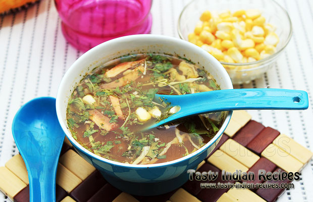Sweetcorn Chicken Soup