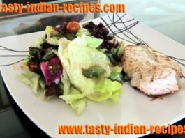 grilled-chicken-breast-with-caesar-salad