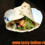 Paneer Shawarma Roll Recipe
