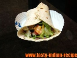 paneer-shawarma-roll
