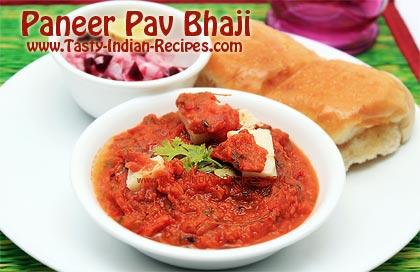Paneer Pav Bhaji