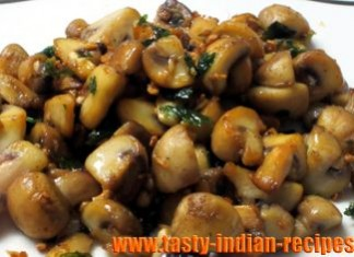 garlic-mushroom