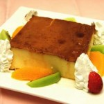 Orange Custard Pudding Recipe