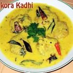 Pakora Kadhi Recipe