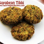 Soyabean Tikki Recipe