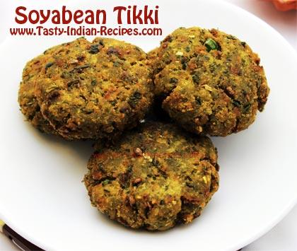 Soyabean-Tikki