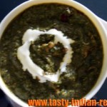 Bhee Paalak (Lotus stem in spinach curry) Recipe