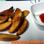 Garlic Herb Potato Wedges Recipe