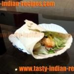 Paneer Tikka Kathi Rolls Recipe