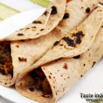 Aloo Patty (Tikki) Wrap Recipe