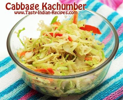 Cabbage Kachumber