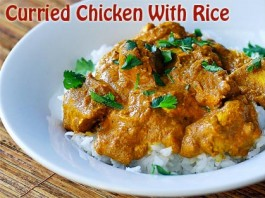 Curried-Chicken-With-Rice