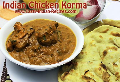 Chicken Korma Recipe Indian Chicken Korma Recipe