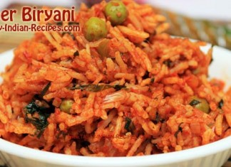 Paneer Biryani---Featured