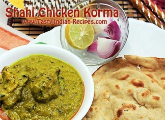 Shahi Chicken Korma