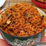 Sindhi Bhuga Chawal Recipe