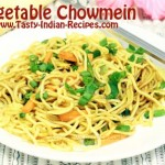 Vegetable-Chowmein