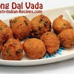Moong Dal Vada Recipe