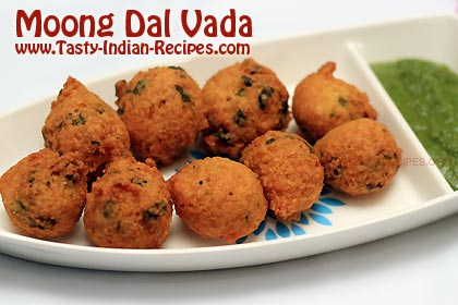 Moong Dal Vada Recipe