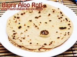 Bajra-Aloo-Roti