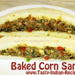 Baked Corn Sandwich Recipe