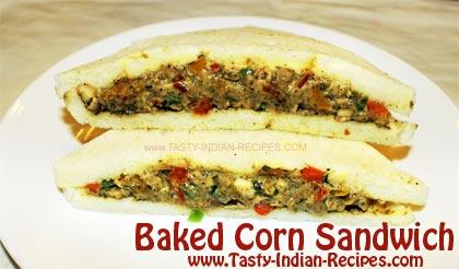 Baked-Corn-Sandwich