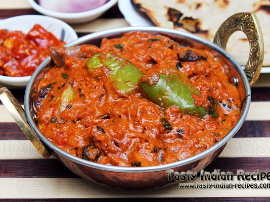 Kadai Mushroom Curry