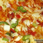 Paneer Tikka Pizza Recipe