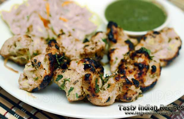 Reshmi Kabab Recipe - How to make Reshmi Kabab
