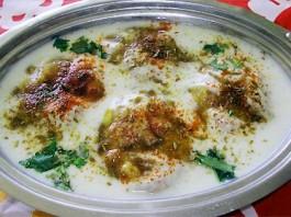 Potato-Dahiwada