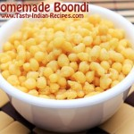 How to make Boondi at home