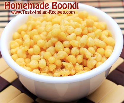 How to make Boondi