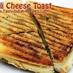 Chilli Cheese Toast Recipe