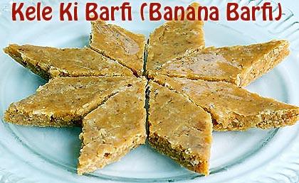 Kele-Ki-Barfi-(Banana-Barfi)